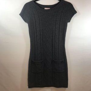 *PINK REPUBLIC* Girls Grey Sweater Dress - Sz M